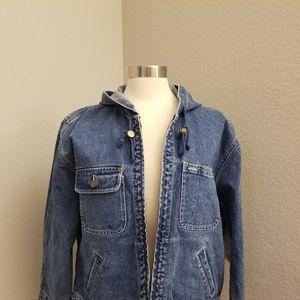Jones Wear Sport Denim Jean Jacket